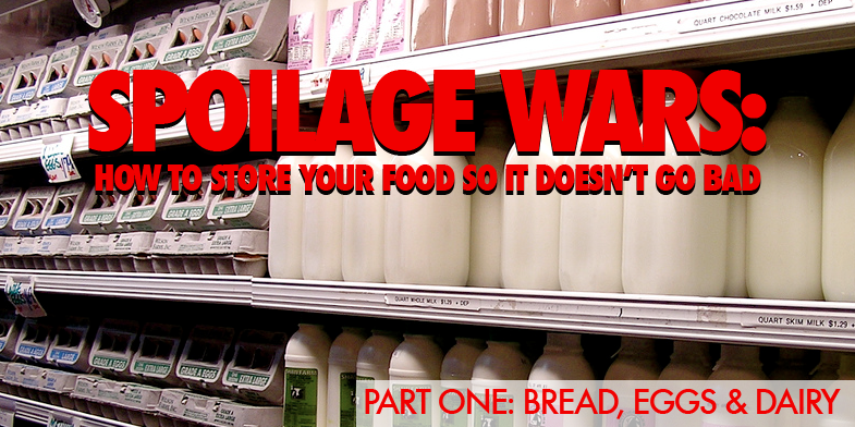 Don't Put Your Bread In The Fridge & Other Important Food Storage Tips