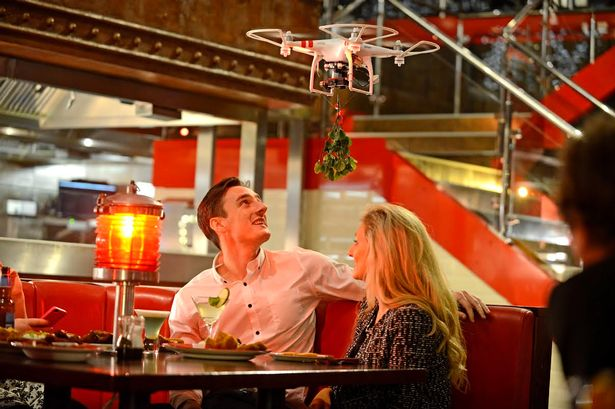 First TGI Friday's Mistletoe Drone Casualty Reported In Brooklyn