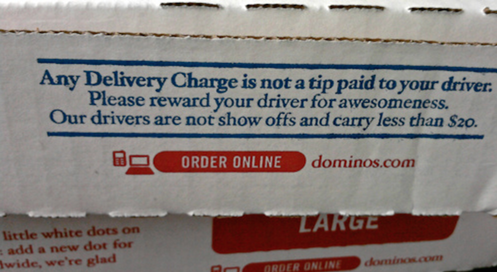 ID Thieves Use Domino's Ordering App To Check Stolen Card Numbers