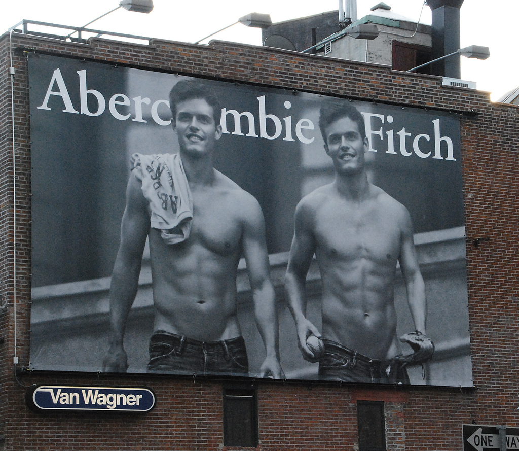 Abercrombie & Fitch Puts Shirts On Male Models, Tries To Reinvent Itself
