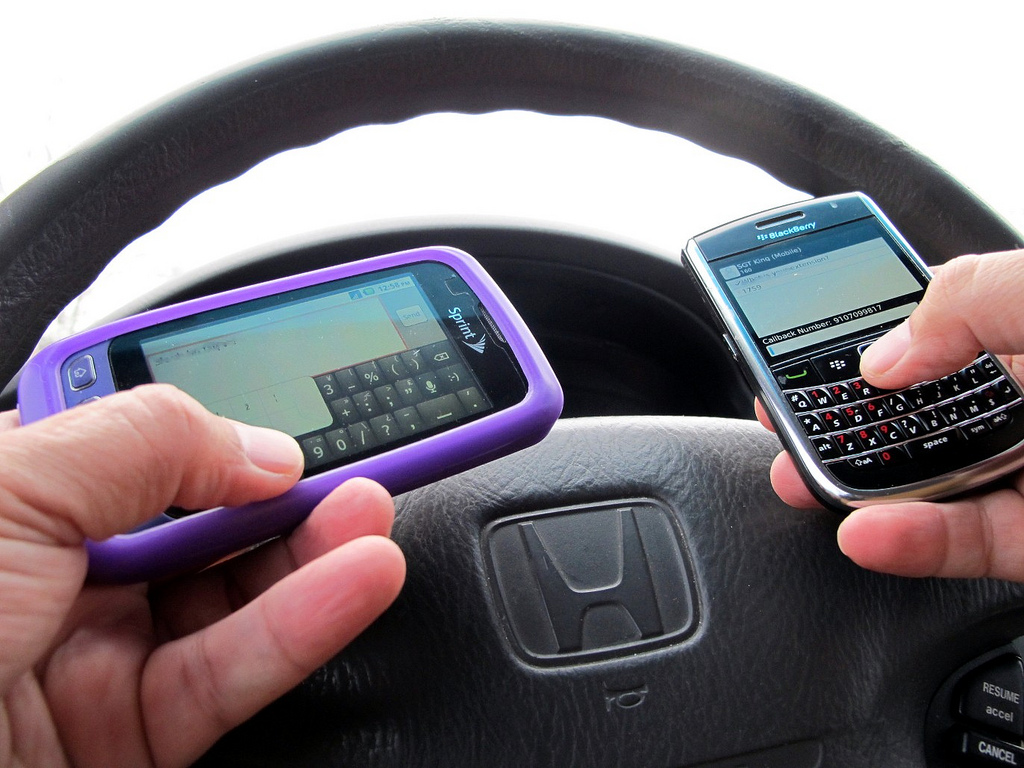 "Survey Says: 30% Of People Who Admit To Tweeting While Driving Do It ""All The Time"""