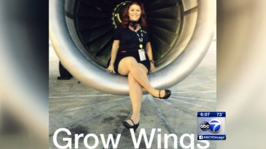 Spirit Flight Attendant Probably Shouldn't Have Posed For Photos In Jet's Engine Well