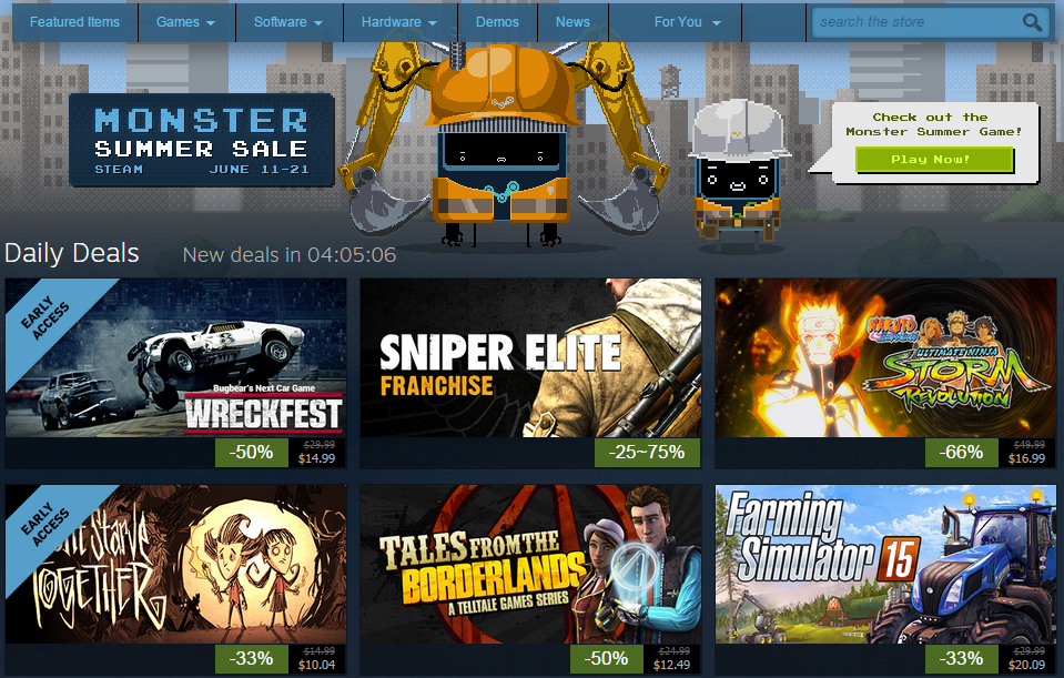 Steam Summer Sale Has Deep Video Game Discounts… And Pricing Shenanigans That Confuse Consumers