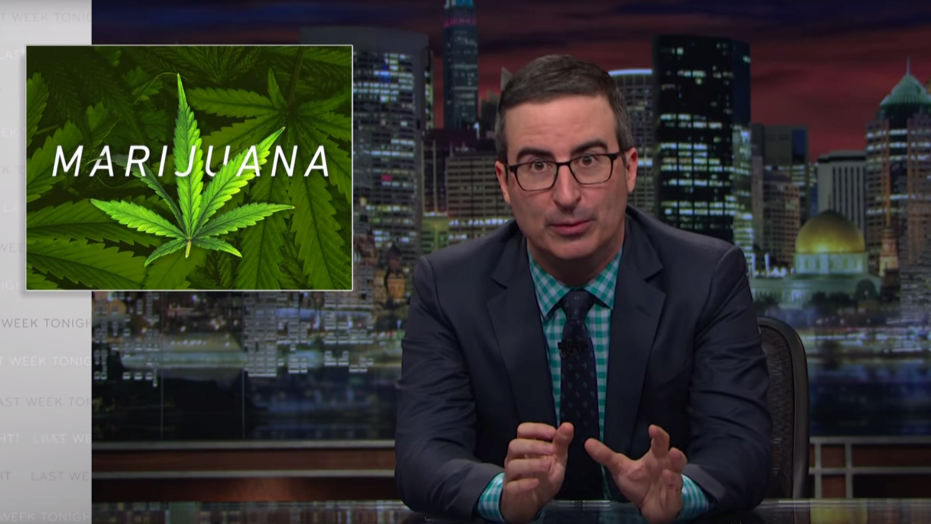 8 Things John Oliver Wants You To Know About Marijuana