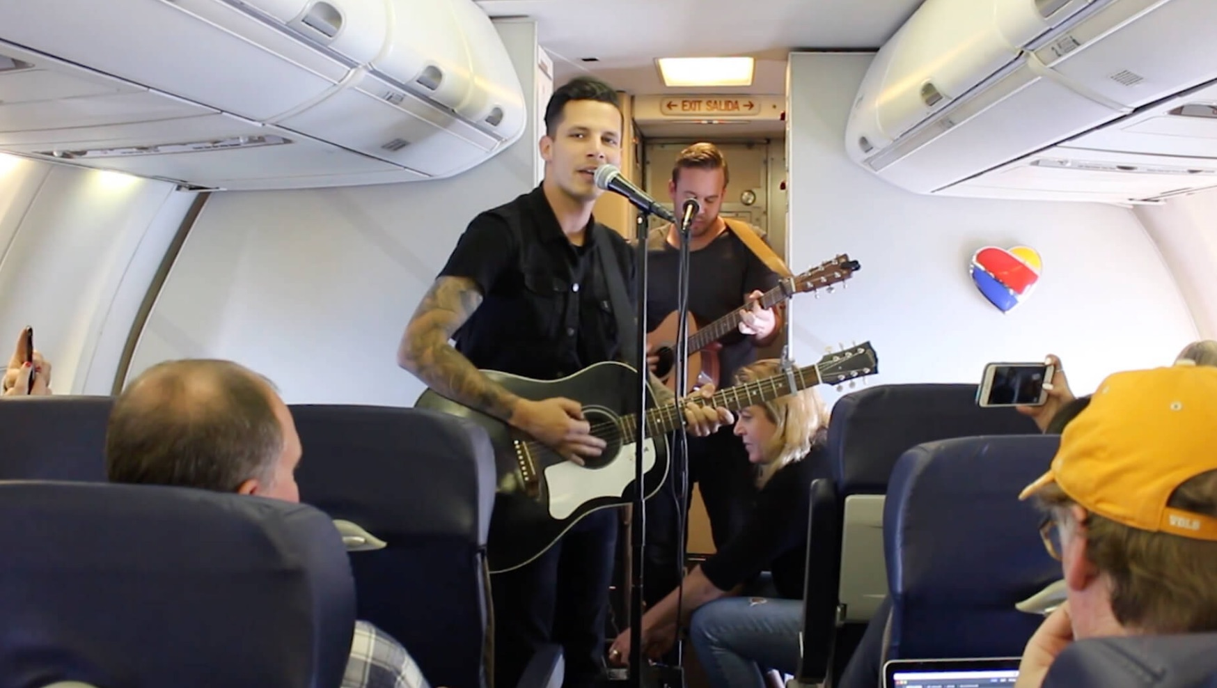 Southwest Airlines Thinks In-Air Concerts Are A Good Idea