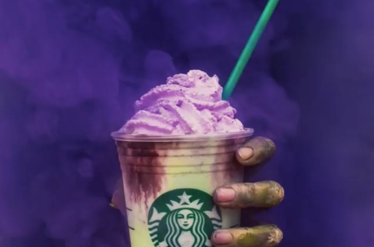 Starbucks Baristas Probably Aren't Sad That The Zombie Frappuccino Is Already Running Out