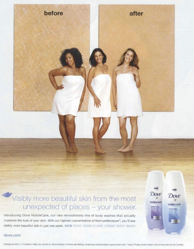 Is This Dove Body Wash Ad Racist Or Just Poorly Executed?