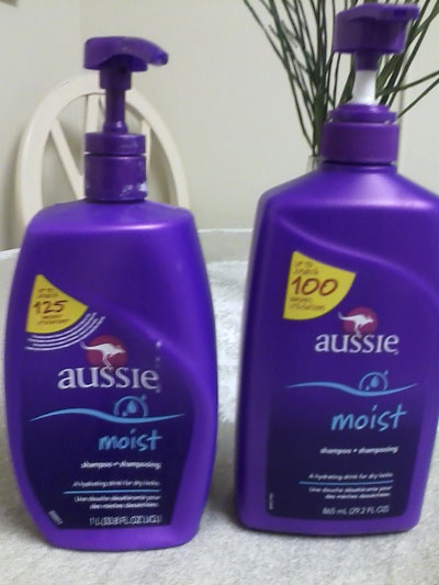 Large Bottles Of Aussie Shampoo Now Somewhat Less Large