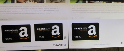 Adventures In Honesty: Chase Credit Card Rewards