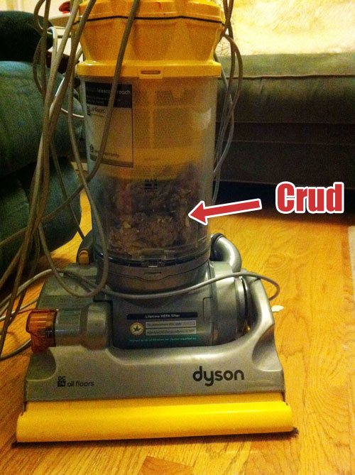 Target Sells You A Vacuum Full Of Crud, Won't Take It Back
