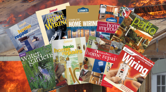Home Improvement Books Recalled