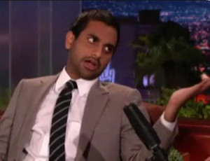 Conan And Aziz Ansari Talk About Thread Count