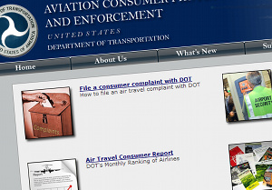 Check Out The Department Of Transportation's New Site For Airline Passengers