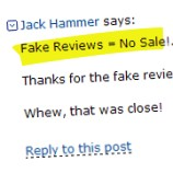 Customers Fight Back Over Fake Amazon Reviews