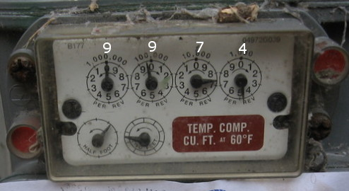 Is This Gas Company Lying About Reading Meters? Nope!