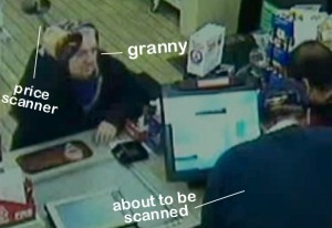 75-Year-Old Woman Attacks Convenience Store Robber