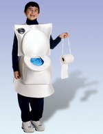 Dress Your Dullard Child As A Crapper For Halloween