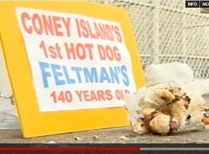 Hot Dog Found At Coney Island May Be 140 Years Old, But Definitely A Hoax