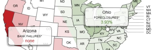 See The Bank Failure And Foreclosure Rates In Your State
