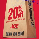 This Ace Hardware Promotion Requires That You Go Back In Time To Use It