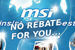 Don't Count On That Rebate From MSI