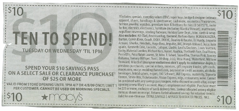 Macy's Makes Fun Of Coupons With Its Latest Coupon