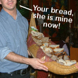 "On Costa Cruises, Your ""Waiter"" Will Take Your Bread Basket Away And Give It To Another Table"
