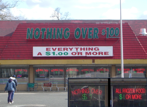 This Discount Store Enjoys Messing With Its Customers' Minds