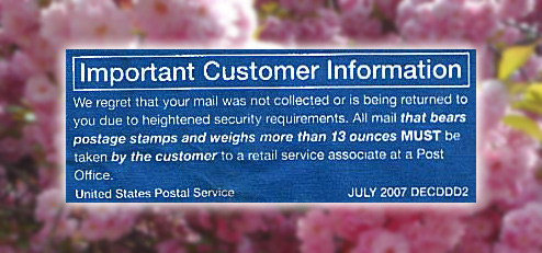 USPS Security Rule On 13-Ounce Packages Makes No Sense