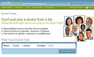 Use Doctor Finder To Prescreen Your Doctor