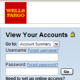 Here's A Phishing Site Disguised To Trick Wells Fargo Customers