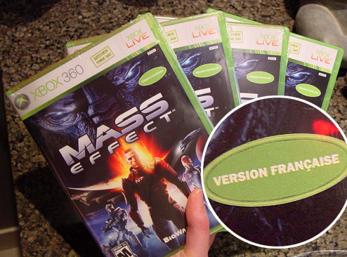 """Microsoft Keeps Sending Us The French Version Of 'Mass Effect'"""