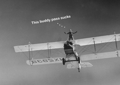 Why Airline Buddy Passes Suck