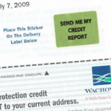 "Wachovia Sends Out Its Own ""Free Credit Report!"" Offer To Customers"