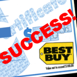 Best Buy Accepts 12 Year Old Gift Certificate Without Complaint