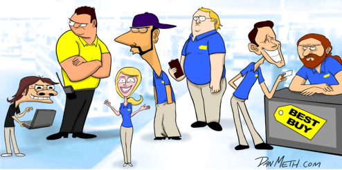 The 7 Types Of Employees You Meet At Best Buy