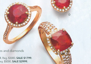 Macy's Caught Selling Leaded Glass Rubies As Real Rubies