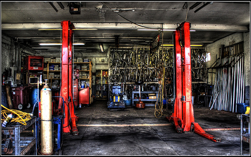 mechanics garage