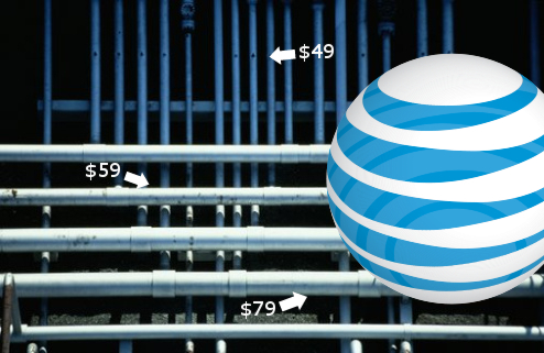 AT&T Will Roll Out Tiered Internet Access In October