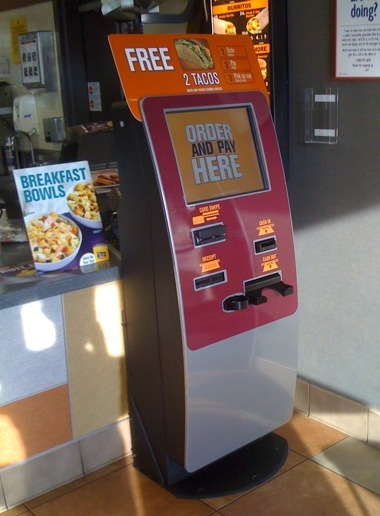 New Jack In The Box Order Kiosk Removes Final Human Obstacle In Food Supply Chore