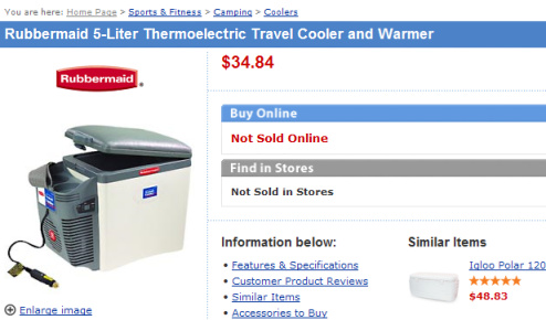 If You Can Find This Cooler, Walmart Will Sell It To You