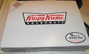 Krispy Kreme Accidentally Gives Customer $5,000 Box Of Donuts
