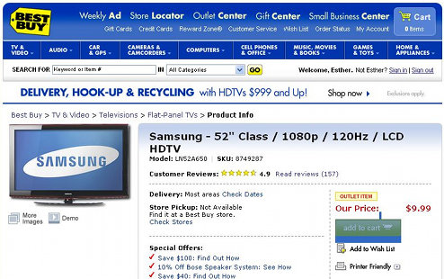Quick, Grab This $10 HDTV Before It's— Oh Never Mind