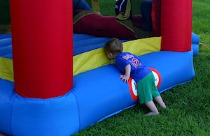 California Says Some Bouncy Castles Have Too Much Lead In Them