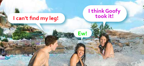Disney's Blizzard Beach Water Park Won't Help You If You Break Your Ankle On Their Rides