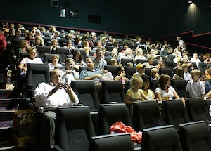 Theater Chain Fights Back Against Texting During Movies