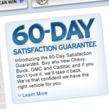 GM's Money Back Guarantee Comes With Lots Of Fine Print