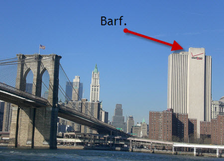 NYC Sues Verizon Because Heinously Ugly Building Is Too Tall