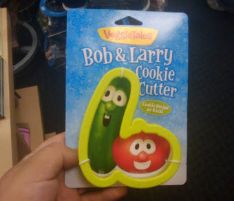 Ok, Someone Should Have Thought This VeggieTales Cookie Cutter Through