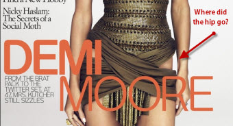 Fashion Photographer Offers $5,000 Reward For Demi Moore's Hip